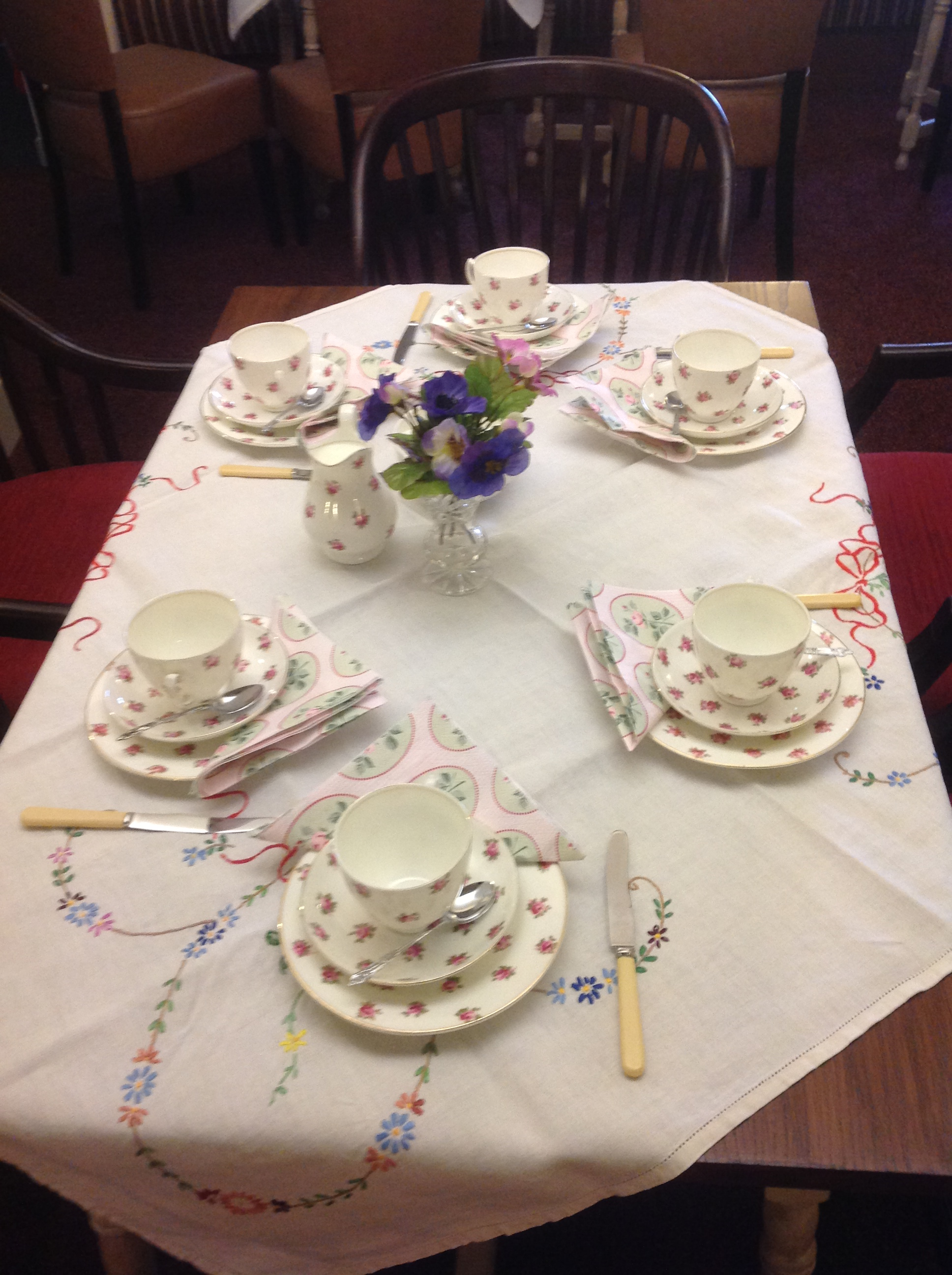 Vintage Tea Parties at Grappenhall Community Centre