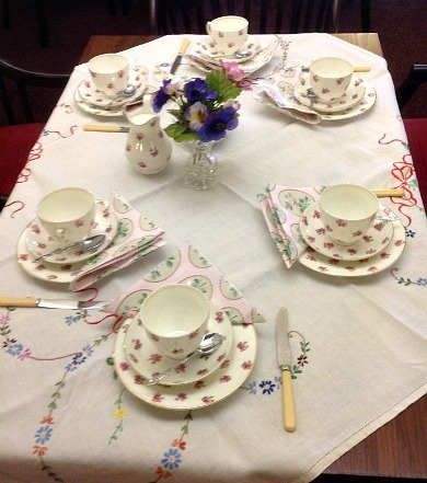 Vintage Afternoon Tea - Table Setting