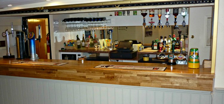 Bar In The Old Barn At Grappenhall Community Centre