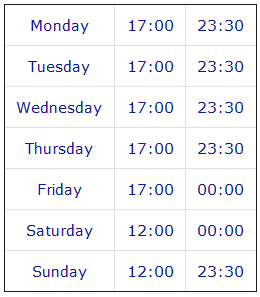 The Bellhouse Grappenhall Opening Times
