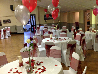Wedding Reception Grappenhall Function Room Hire