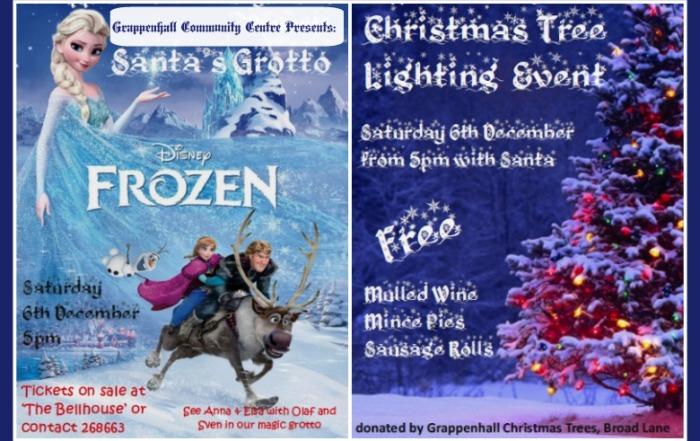Grappenhall Christmas Tree Lighting & Santa's Grotto