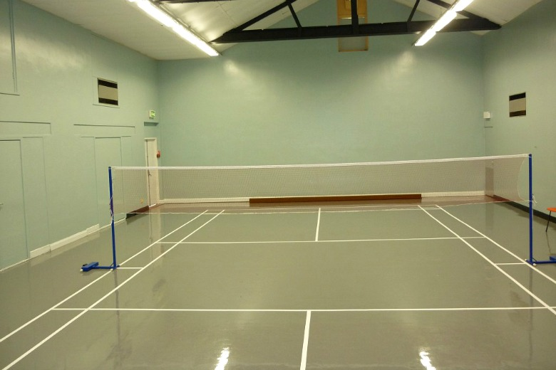 Sports hall gym room available for hire grappenhall