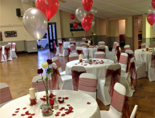Intimate Wedding Reception and Evening Party