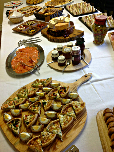Self Style Buffet - Wedding Reception Bespoke Catering Grappenhall