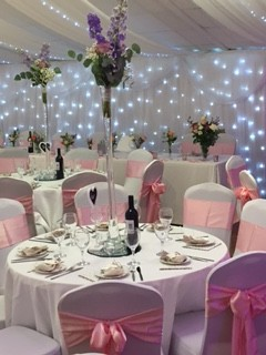 Grappenhall 'Old Barn' Wedding Function Room - Pink Themed