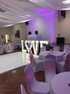 'Old Barn' Wedding Function Room Dance Floor
