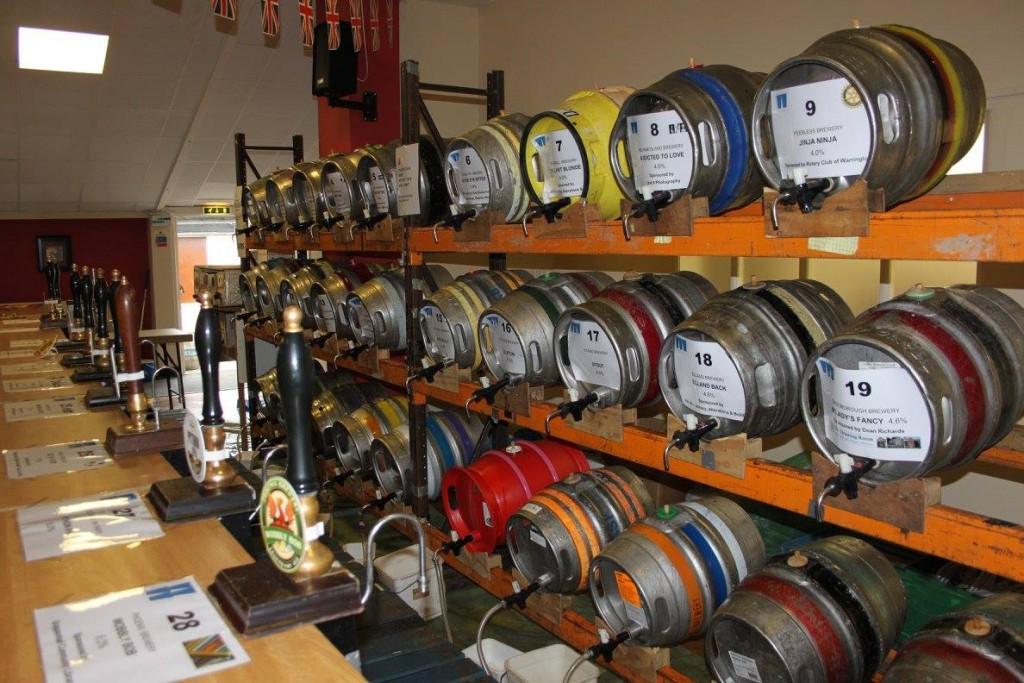 Grappenhall Beer Festival - Beer Kegs
