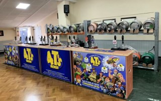 Grappenhall Beer Festival Bar 2019