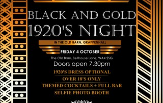 Black & Gold 1920s Night