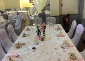 Wedding Vintage Afternoon Tea for 90